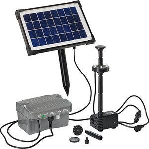 esotec Palermo LED Solar-Teichpumpensystem - esotec