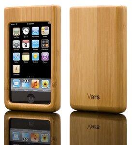 iPod Schutzhülle aus Bambus - Vers