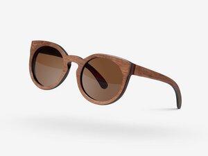 Palo Sonnenbrille aus Holz - Savannah  Reggea Skate - Palo