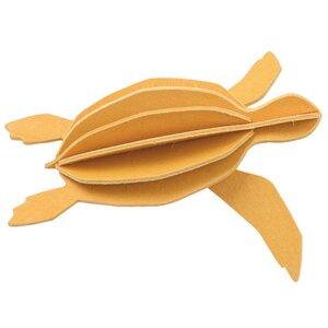 Süße Deko & Grußkarte - LOVI Schildkröte aus Birke zum Selberbasteln - Lovi
