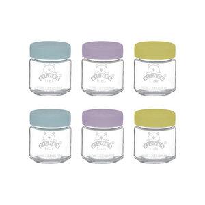 Babygläser mit Silikonverschluss, 6 x 110 ml - Kilner