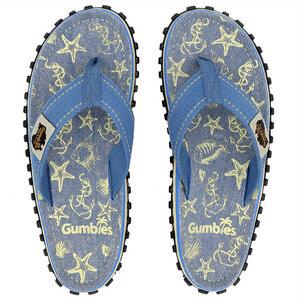 GUMBIES Seashells – Nachhaltige Zehen-Sandalen für Frauen und Männer - GUMBIES