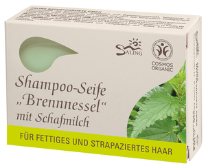 Shampoo-Seife Brennnessel - Saling Naturprodukte