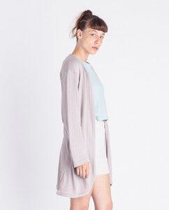 Damen Cardigan aus Bio-Baumwolle - Binary  - Degree Clothing