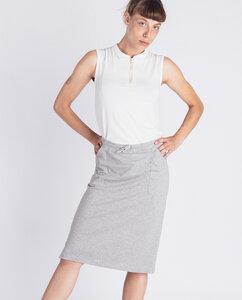 Damen Midirock mit Taschen aus Bio-Baumwolle - Sinum  - Degree Clothing