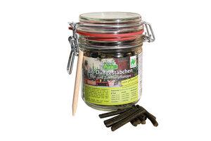 KleePura BioDüngestäbchen 200 g im Einmachglas  - Kleepura