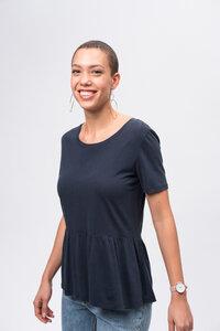 Tencel Peplum T-Shirt - recolution