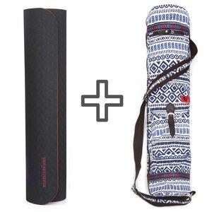 Guru ELITE Yogamatte und Pilatesmatte + Tragetasche - mantrafant