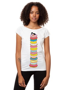 Damen T-Shirt Donutsliebe Bio Fair - FellHerz
