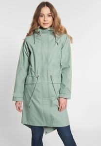 "Damen Regenjacke aus Bio-Baumwolle & recyceltem Nylon ""City Break"" - derbe"