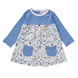People Wear Organic Baby und Mädchen Langarm-Kleid reine Bio-Baumwolle - People Wear Organic