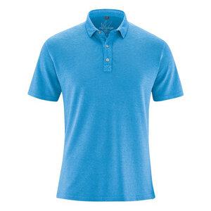 HempAge Herren Poloshirt Hanf/Bio-Baumwolle - HempAge