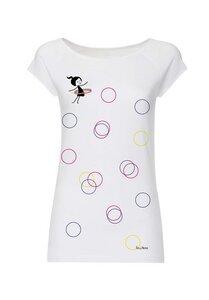 Damen T-Shirt Sporty Girl Bio Fair - FellHerz