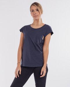 Damen T-Shirt mit Brusttasche aus Bio-Baumwolle - Olivia  - Degree Clothing