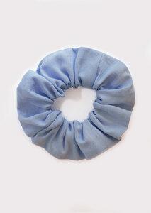 Scrunchie - Haargummi aus Oxford-Stoff - börd shört