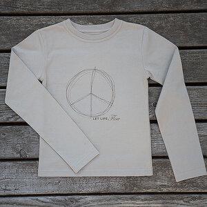 Bio Langarm T-Shirt - BARBARA HEINZE