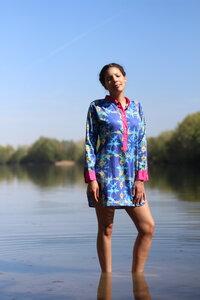Tunika Europa - Lange Bluse aus Bio-Baumwolle - Sophia Schneider-Esleben