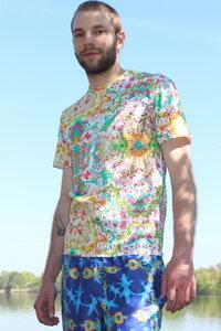 T-Shirt Kaleido - Unisex T-Shirt aus Bio-Baumwolle - Sophia Schneider-Esleben