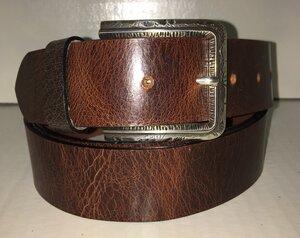 JAMES B: - Handgemachter Ledergürtel  - SaSch belt & bags