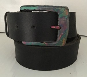 RAINBOW - Handgemachter Ledergürtel  - SaSch belt & bags