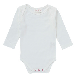 People Wear Organic Baby Langarm-Body Ajour reine Bio-Baumwolle - People Wear Organic