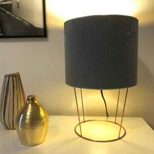 Tischleuchte Samt light green - my lamp
