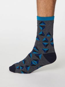 Geometrico Bambus Socken - Thought