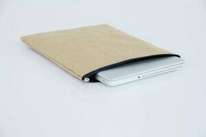 "Laptop Case 13 "" Zoll aus extra starkem Kraft Papier, Laptop Hülle für MacBook, waschbar, handmade & vegan, Lederoptik, Eco friendly - BY COPALA"