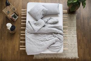 Bettdeckenbezug Leinen - Linus 155x220 cm - #lavie
