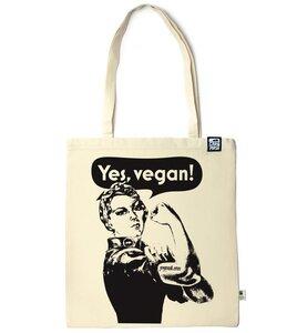 Baumwolltasche Yes, vegan! - Gary Mash