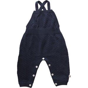 Baby Strick Romper * Dot navy * GOTS | Müsli - Müsli by Green Cotton