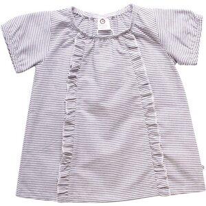 Streifen Shirtkleid mit Rüschen | GOTS Bio Baumwolle | Müsli - Müsli by Green Cotton
