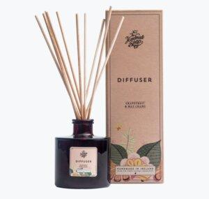 Raumduft Diffuser Grapefruit und May Chang180ml - The Handmade Soap Company