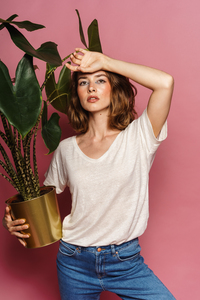 "Leinen-Shirt ""Lara"" aus fairem nachhaltigem Leinen - WEIß - FREIRAUMREH"