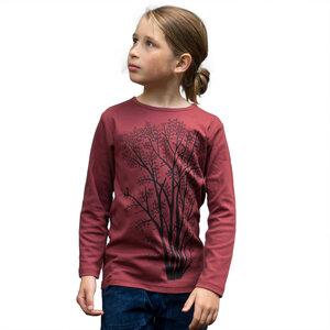 Erle mit Elster Langarmshirt für Kinder   - Cmig