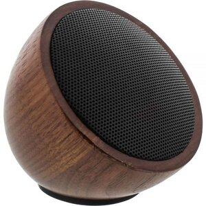 Woodwoom Bluetooth-Lautsprecher aus Walnuss-Holz - InLine