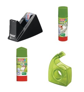 tesa ecoLogo® Büro Schreibtisch Set groß - tesa ecoLogo®