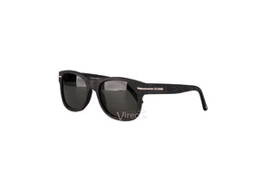 WeWood Sonnenbrille The Crux - Black - aus Baumwollfaser - Wewood