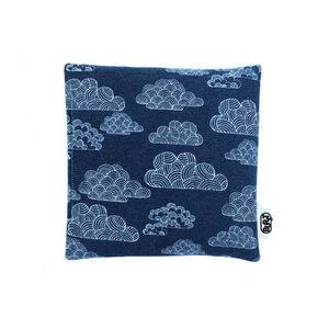 night clouds (Bio-Baumwolle Flanell) Wärmekissen - Kirschkerne/ Dinkel - Burst