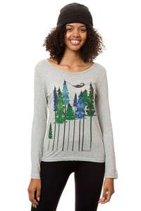 Damen Longsleeve Wood Girl Bio Fair - FellHerz
