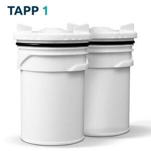 TAPP 1 - 2 Ersatzkartuschen für den TAPP 1 Wasserfilter - TAPP Water