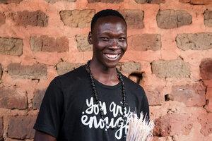 Papierperlenkette SAINT TROPEZ - PEARLS OF AFRICA