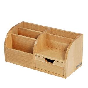 Office Butler Schreibtisch-Organizer CLASSIC Holz von NATUREHOME - NATUREHOME
