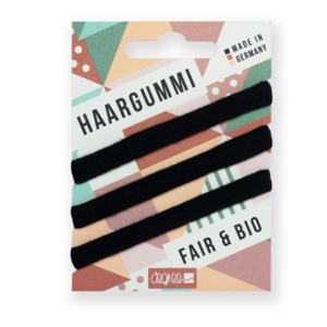 Haargummi | Fair Hair | schwarz - Degree Clothing