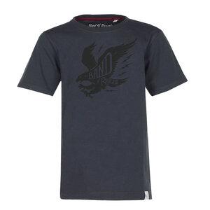 Eagle  - Cooles Jungen  T-Shirt mit Adler Druck Kurzarm aus 100% Bio-Baumwolle - Band of Rascals