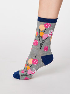 Nettie Bambus Socken - Thought