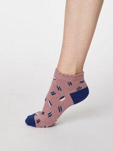 Sallie Ankle Bambus Socken - Thought