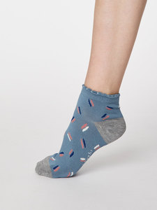Sallie Ankle Bambus Socken - Thought