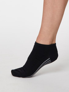 Jane Ankle Bambus Socken - Thought