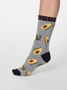 1er-Pack Avocado Bambus Socken  - Thought